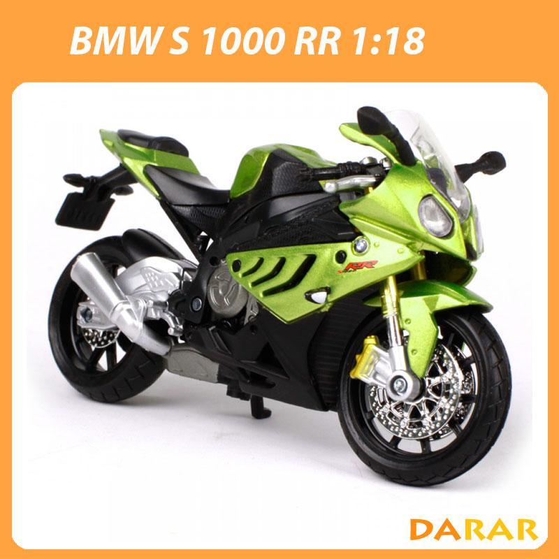 Giá Quá Tốt Để Có XE MÔ HÌNH - MOTO Siêu Xe BMW S1000RR - MAISTO Tỷ Lệ 1:18