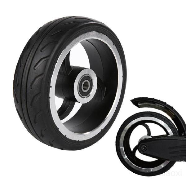 Phân phối 5,5 inch Xe tay ga Bánh xe PU cho xe lăn Nhà máy bánh xe phía sau Chất lượng cao Cao su hợp kim nhôm nguyên bản qXw1Gfeh
