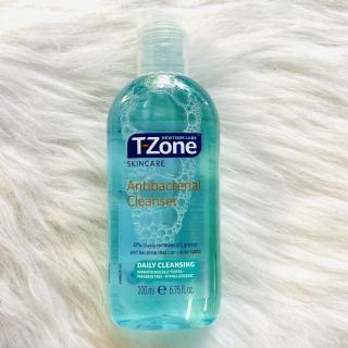 [HCM]Nước tẩy trang T-zone ANTIBACTERRIAL CLEANSER 200ML Anh quốc thumbnail