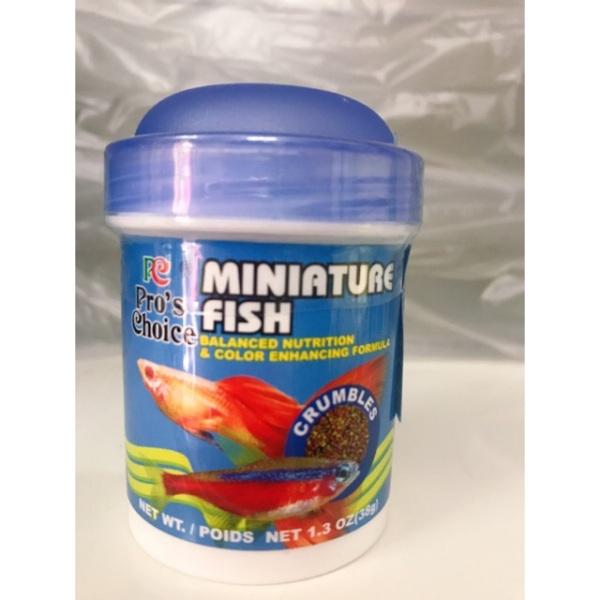 Thức ăn cá thủy sinh Miniature, cam kết hàng đúng mô tả, chất lượng đảm bảo an toàn đến sức khỏe người sử dụng