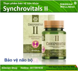 Synchrovital II - Bảo vệ não bộ thumbnail