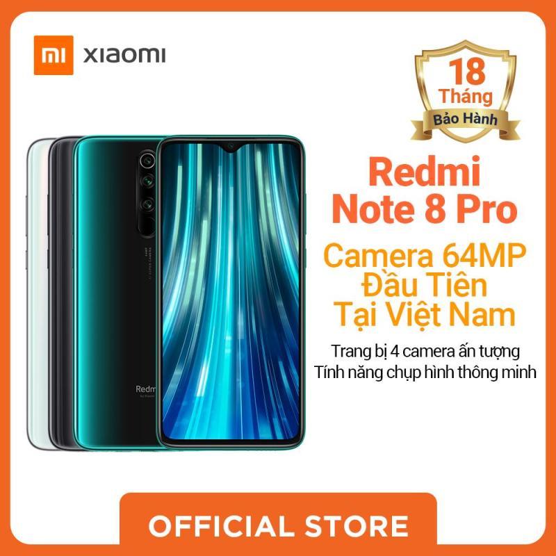 Xiaomi official Điện Thoại Redmi Note 8 Pro (6GB RAM/ 64GB,128GB ROM), Xanh, Xám, Trắng_ Hàng chính hãng, bảo hành 18 tháng
