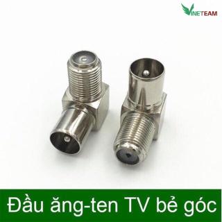 Đầu nối dây cáp bẻ góc 90 độ dành cho anten TV RF chất lượng cao -dc4369 7