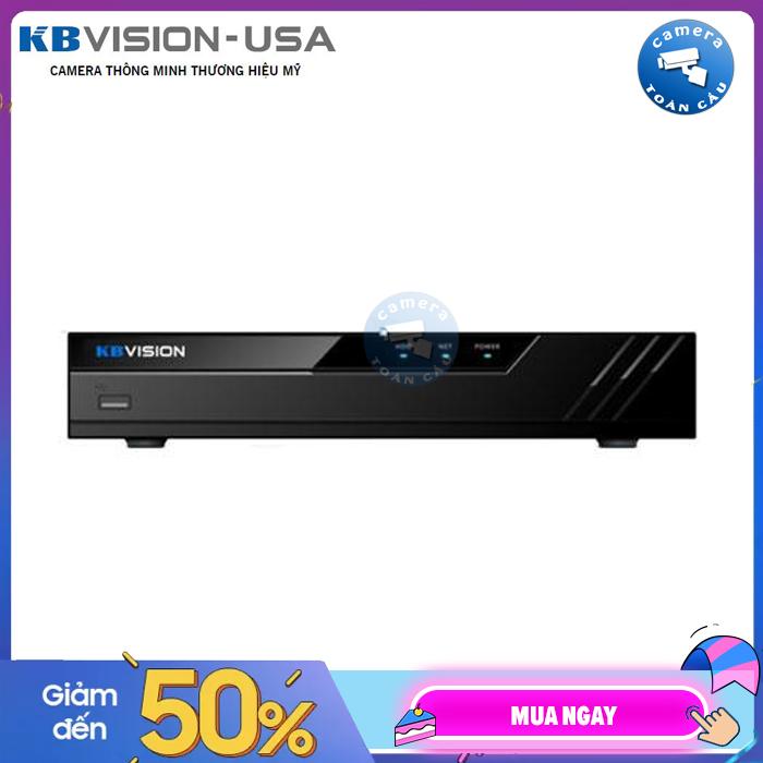 Đầu ghi NVR 8 kênh Kbvision KX-8108N2 - Camera Toàn Cầu