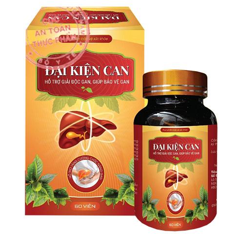 ĐẠI KIỆN CAN - Giải độc Gan - Tăng cường chức năng gan
