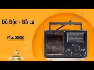 [ LOẠI XỊN ] Đài RADIO Hàng Nhật Bãi ài Radio Sony Nhật Hàng Bãi Chuyên dụng ỌC THẺ Nhớ, USB MP3 SONY SW-888UAR SW-999UAR Loa ài FM Nghe Nhac Chất Lượng Cao ài FM SW-999 UAR Nghe uợc Nhiều Kênh Độ Nhạy Cao , Bắt Sóng Tốt , Âm Thanh , giá rẻ, uy tí thumbnail