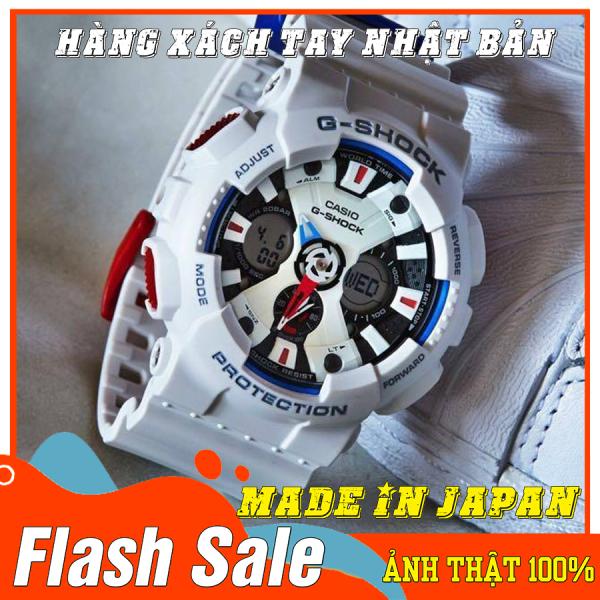 Nơi bán Đồng hồ Nam G-Shock GA-120TR-7A - Mới- Made in JAPAN - Size 46mm - Bảo hành 12 tháng - Siêu chống nước,chống từ,chống va đập - Màu bền không phai - Đẳng cấp NHẬT BẢN