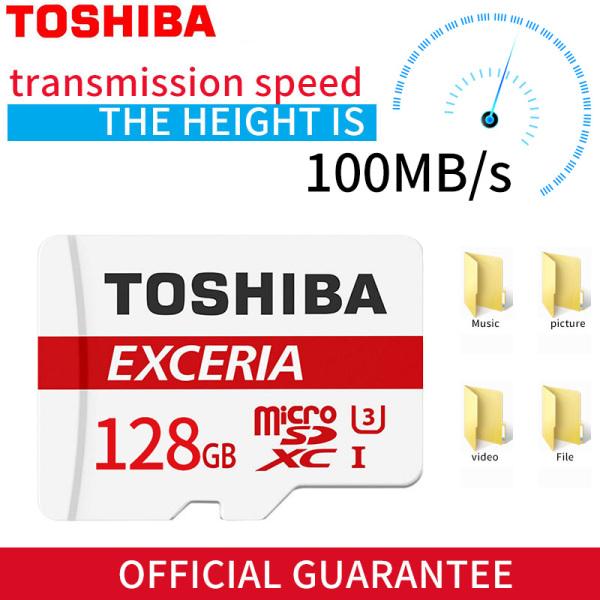 Thẻ Nhớ Micro Sd 128G Tf Card U1 C10 M203 100 Mb/Giây Chống Sốc Cao Cấp Cho Điện Thoại/Đi- Pro/Camera/Màn Hình