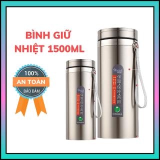 Bình nước giữ nhiệt, chất liệu inox xịn 2 lớp cao cấp BAOL (1500ml) tiện dụng thumbnail