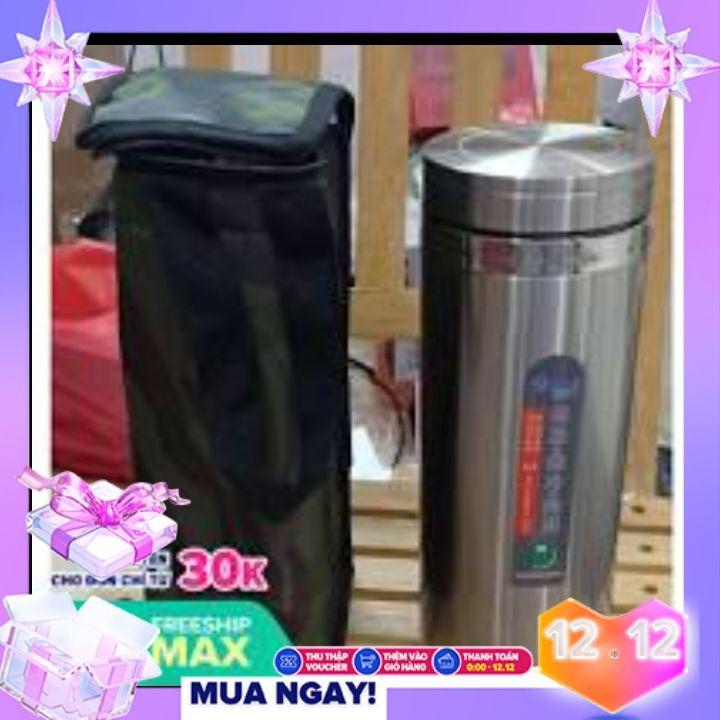 [HCM]Bình Giữ Nhiệt Tối Ưu 1200ml Chất liệu inox và thiết kế chắc chắn Giữ nhiệt tốt + Túi Đựng Bình(Comb