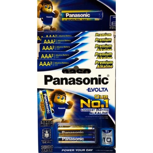5 Đôi Pin AAA Panasonic Evolta Thế Hệ Mới
