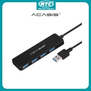 [Nhập ELJUN21 giảm 10%] Bộ chia cổng USB ra 4 USB 3.0 Acasis AB3-L42 dây dài 20cm (Đen) - Nhất Tín Computer thumbnail