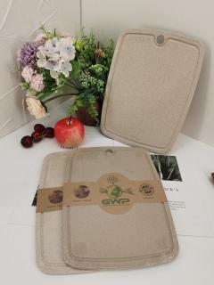 Thớt Nhựa Lúa Mạch Kháng Khuẩn Siêu Sạch - Thót Sử Dụng Nhà Bếp.[ HÀNG CAO CẤP ] thumbnail