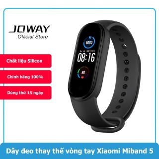 Dây đeo thay thế vòng đeo tay Xiaomi Mi Band 5 Chất liệu Silicone thumbnail