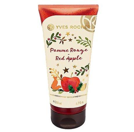 Gel Tắm Làm Sạch Tế Bào Chết Yves Rocher Red Apple Exfoliating Shower Gel 200ml