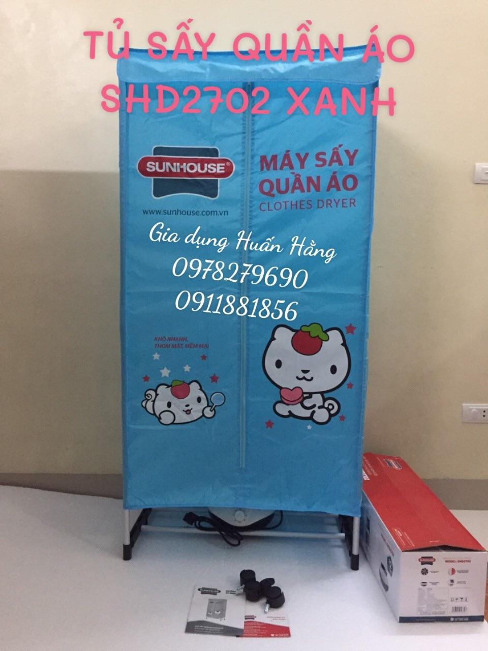⭐TỦ SẤY QUẦN ÁO SUNHOUSE SHD2702 CÓ UV DIỆT KHUẨN: Mua bán trực tuyến Máy  sấy với giá rẻ