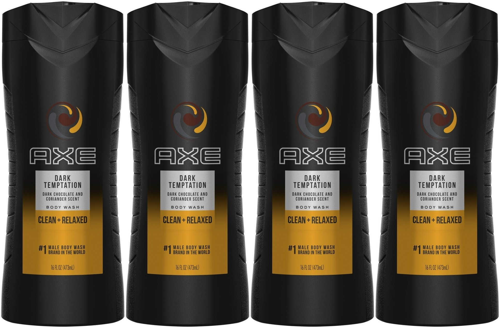 Axe Body Wash Dark Tempttion 16 OZ X 4P (THÙNG)