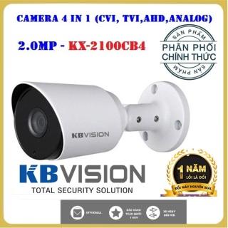 (Bảo hành 2 năm) Camera 4 in 1 hồng ngoại 2.0 megapixel KBVISION KX-2100CB4 siêu nét hồng ngoại đêm 15M, hỗ trợ cân bằng ánh sáng, bù sáng, chống ngược sáng, chống nhiễu 2D- DNR thumbnail
