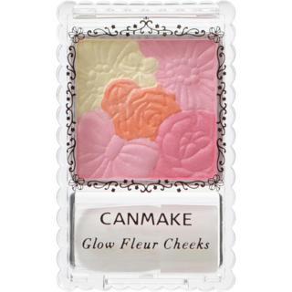 Phấn má Canmake Glow Fleur Cheeks 07 - 4g (Hồng cam) thumbnail