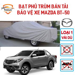 [MAZDA BT50] Bạt phủ xe ô tô bán tải Mazda BT-50 chất liệu vải dù Oxford cao cấp, bền bỉ , áo trùm 3 lớp xe bán tải chống nắng, chống nóng, chống xước, chống mưa ngoài trời , bac phu oto, xe hoi thumbnail