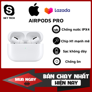 [ Like Auth - Nguyên Seal ] Tai Nghe Bluetooth AirPods Pro Tai nghe Iphone True Wireless AirPods Thiết Kế Thời Trang Độc Đáo Sử Dụng Cảm Ứng Đa Điểm Điều Khiển Sử Dụng Lên Tới 24h Bảo Hành 1 Năm Lỗi 1 Đổi 1 thumbnail
