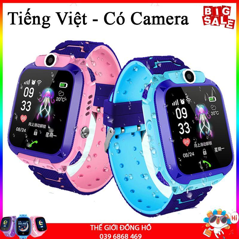[TIẾNG VIỆT] Đồng hồ định vị trẻ em GPS A28 Chống nước IP67, có Camera chụp ảnh từ xa, đồng hồ thông minh trẻ em chống nước bảo hành 1 đổi 1 tại Thế Giới Đồng Hồ