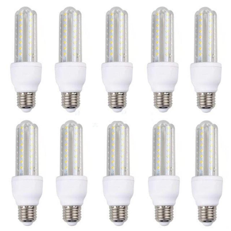 Bộ 10 bóng đèn LED chữ U 9W