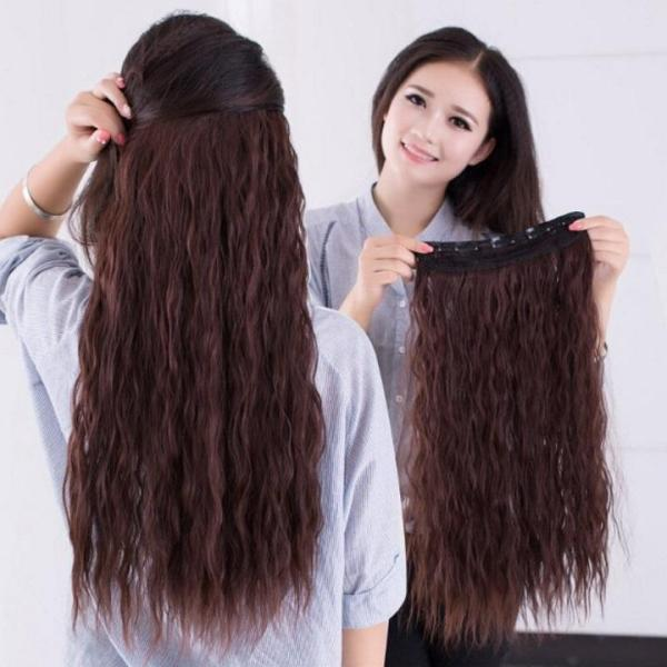 Tóc kẹp nữ Hàn Quốc bấm xù T28 nhập khẩu