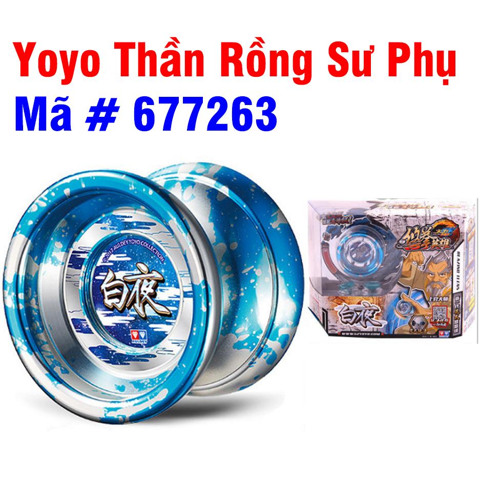 Yoyo con quay bằng kim loại đồ chơi trẻ em Thần Rồng Sư Phụ mã 677263