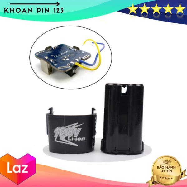 Bảng giá Vỏ mạch pin 16.8v 4s li-ion, giắc sạc DC dùng đóng pin máy khoan, bắt vít TQ