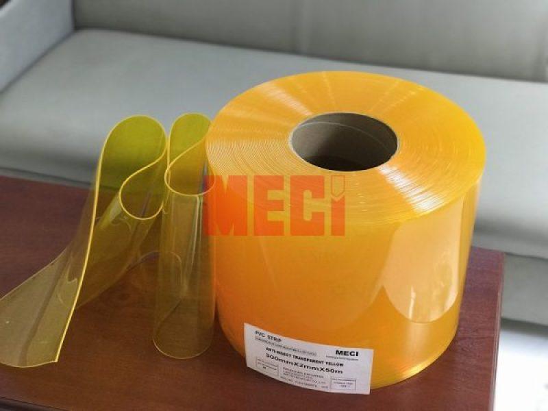 Rèm nhựa PVC dày 1.5mm, bán theo nhu cầu khách (m lẻ)