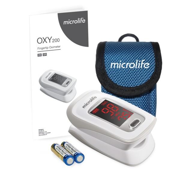 MÁY ĐO NỒNG ĐỘ OXY TRONG MÁU MICROLIFE OXY200 bán chạy