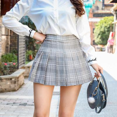 Phụ Nữ Xếp Ly Chân Váy Hàn Quốc Kẻ Sọc Cao Cấp Siêu Ngắn Mini 2019 Mùa Hè Mới Màu Xanh Hồng Ngọt Ngào Ôm Váy Feminina LD843 Bán giỏi nhấtujkhgj