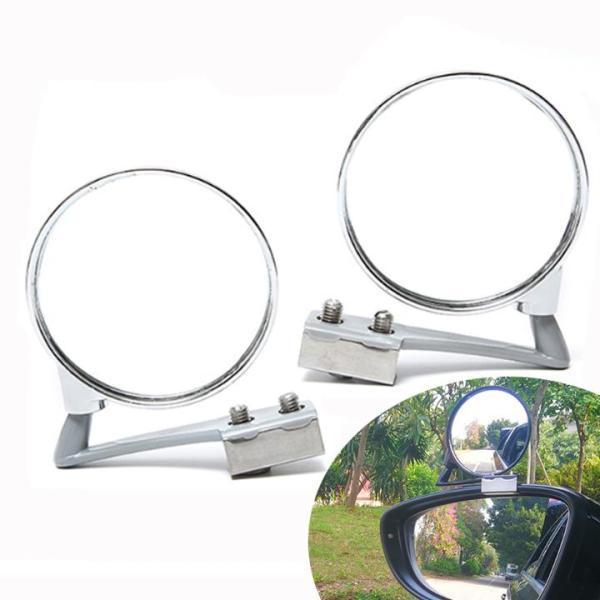 Gương cầu 360 gắntrên gương chiếu hậu tăng tầm nhìn cho ô tô 01 GƯƠNG BÊN PHẢI MÀU TRẮNG