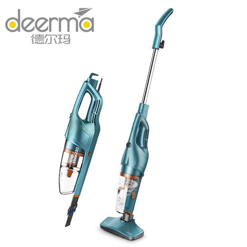 Youpin Deerma DX115C/DX900 Máy hút bụi. 2In1 Máy hút bụi + máy hút bụi đa chức năng lau sàn, di động và cán dài.