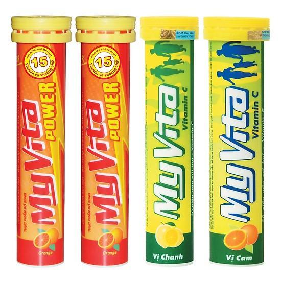 MyVita Vitamin C  ( 20 viên nén sủi) nhập khẩu