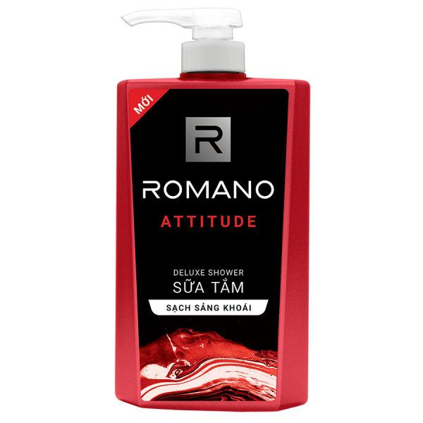 Sữa tắm cao cấp Romano Attitude 650g cao cấp
