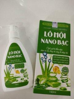 Dung Dịch Vệ Sinh Phụ Nữ Lô Hộ Nano Bạc- Giúp Làm Sạch , Kháng Khuẩn, Ngăn Ngừa Viêm Nhiễm thumbnail