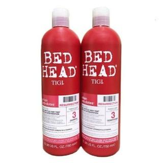 Bộ dầu gội xả Tigi Bed Head phục hồi cấp độ 3 - 750ml x 2 chai ( 1 gội và 1 xả) thumbnail