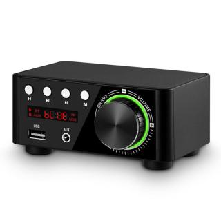 Máy nghe nhạc mini không dây bluetooth 5.0 âm thanh nổi dùng trong gia đình xe hơi dễ dàng sạc lại bằng cáp USB - INTL thumbnail