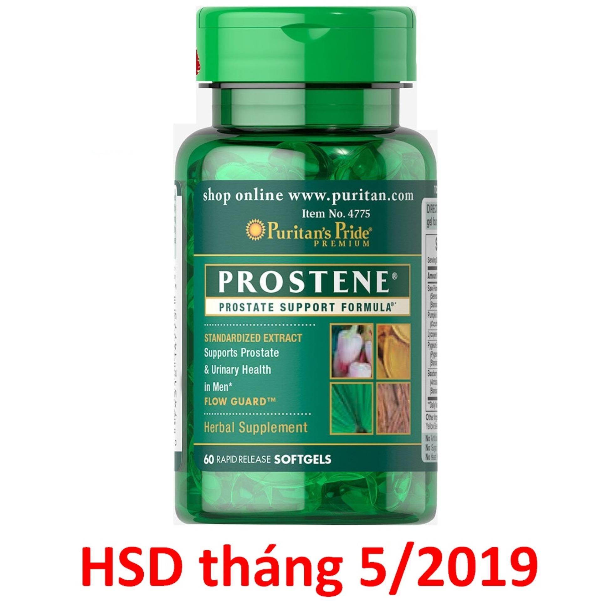 Big Sales Chỉ Còn 69k/lọ, Viên Uống Hỗ Trợ Tiền Liệt Tuyến, Giảm Tiểu Dắt, Tiểu đêm Puritans Pride Premium Prostene Prostate Support Formula 60 Viên Hsd Tháng 05/2019 By Puritans Pride Việt Nam (hà Nội).