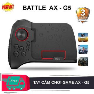 Tay cầm chơi game một bên , Bộ điều khiển trò chơi không dây bluetooth AX - G5 cho PUBG Nút điều khiển trò chơi di động dành cho điện thoại thông minh Android IOS iPad thumbnail