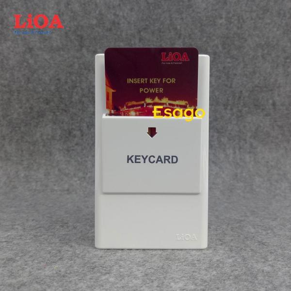 [30A] Bộ công tắc ngắt điện dùng chìa khóa thẻ LiOA 30A - Dùng cho nhà nghỉ, khách sạn