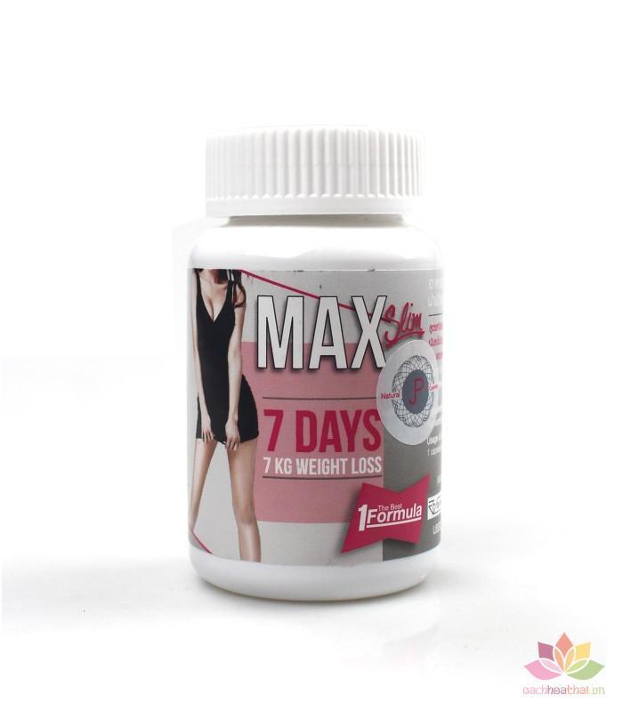 Viên uống giảm cân Max 7 Days (Thailand) cao cấp
