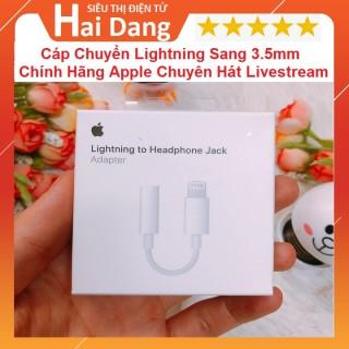 Jack Chuyển Lightning Sang 3.5mm, Chính Hãng Apple Chuyên Dùng Hát Karaoke - Livestream Cho Iphone 7 Trở Lên thumbnail