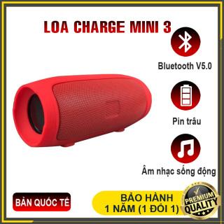 [BẢN QUỐC TẾ] Loa JBL mini 3, loa bluetooth Mini 3 cao cấp 2021, âm thanh sống động, pin trâu, tích hợp thẻ nhớ, kết nối với mọi điện thoại iphone, samsung, oppo, huewei, xiaomi thumbnail
