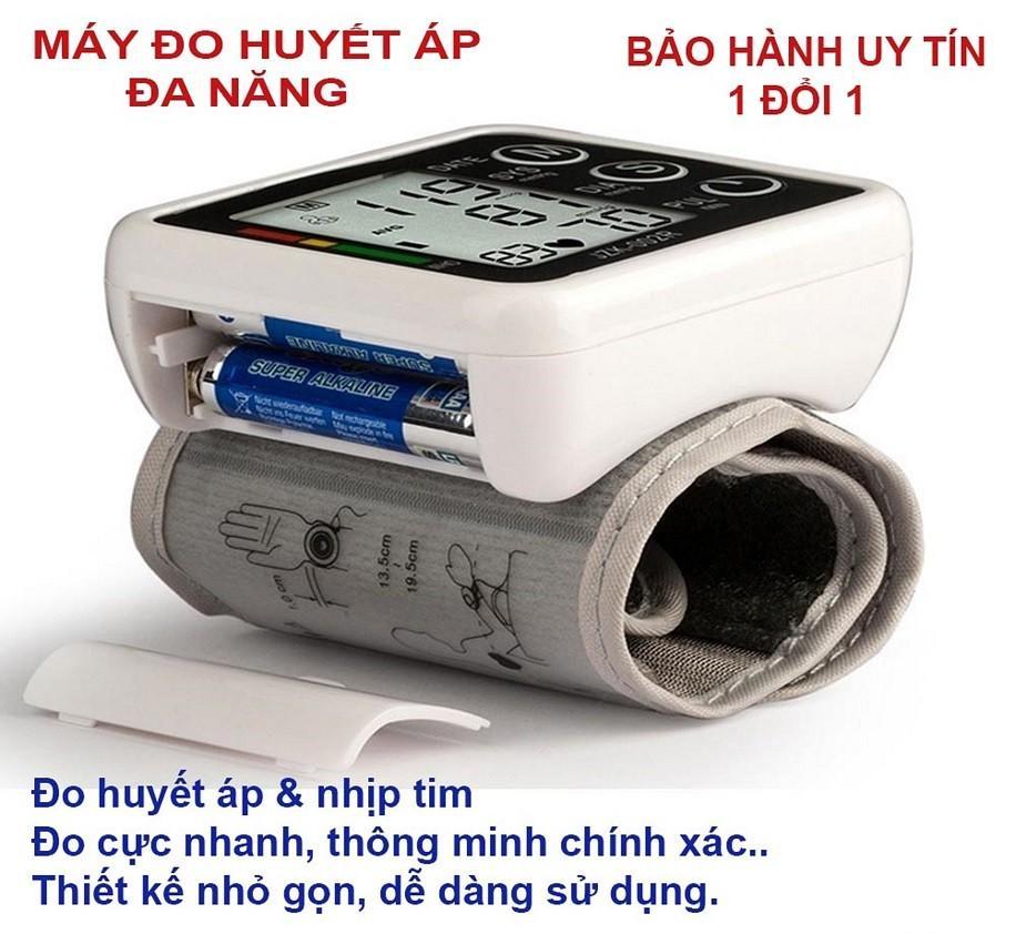 May do nhip tim - Máy đo huyết áp đeo tay - Máy đo huyết áp điện tử omronN Máy đo huyết áp tại nhà, máy đo huyết áp nhập khẩu, giá rẻ , loại tốt  - BẢO HÀNH 1 ĐỔI 1 bởi F88 Plus bán chạy