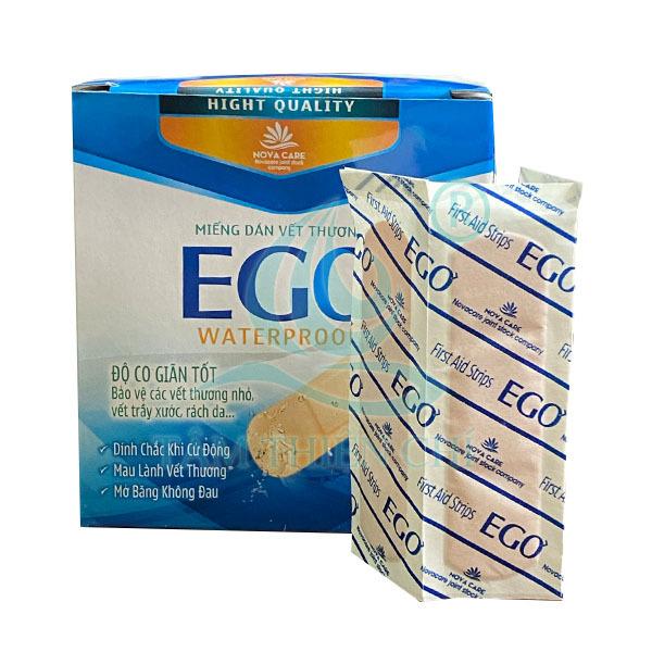 Băng dính y tế băng cá nhân EGO hộp 100 miếng