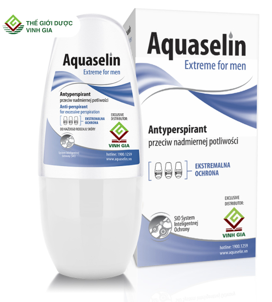 AQUASELIN NAM (Aquaselin Extreme For Men Antiperspirant For Excessive Perspiration 20ml) cao cấp