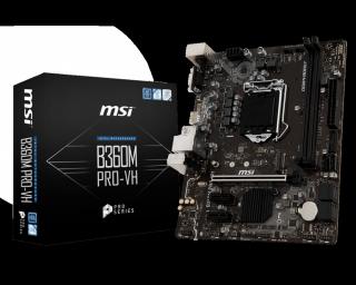 Bo mạch chủ MSI B360M PRO-VH, sản phẩm tốt với chất lượng, độ bền cao và được cam kết sản phẩm y như hình thumbnail